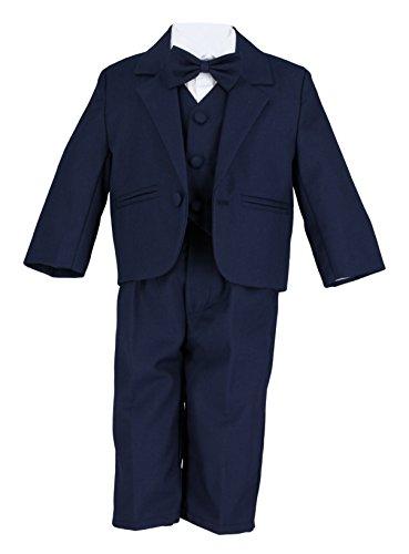 Boutique-Magique Baby Jungen Anzug Gr. 74, marineblau