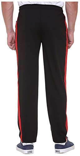 Free Runner Men's Track Pant (SB1226-XL, Black, X-Large)