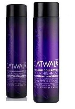 Catwalk By Tigi - Volume Collection Your Highness Set Of 2 - Elevating Shampoo 250ml & Nourishing Conditioner 200ml