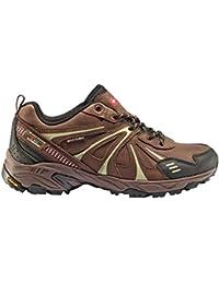 + 8000 Zapatillas Trekking Telmo marrón Membrana Impermeable Waterproof Skintex y Suela Vibram