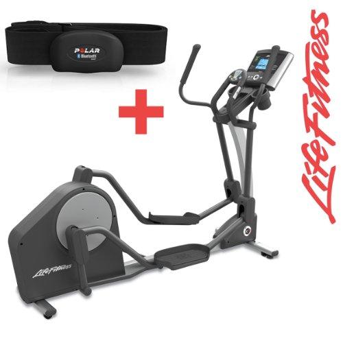 Life Fitness X3 Go Crosstrainer - Ausstellungsstück - inkl. Gratis H7 Polar Brustgurt und Bodenmatte - Ellipsentrainer