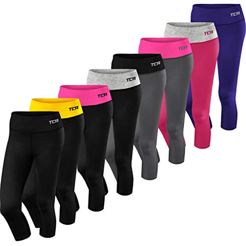 41DB3LYoavL. SS500  - TCA Women's Pro Performance Supreme Cropped Running Leggings