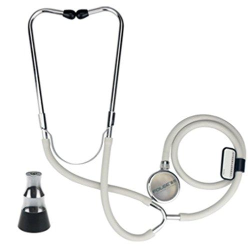 Medizinische Stethoskop Einseitig Dual-Use-Hörer Erwachsenen Kind Schwangere Frau Haushalt Fetal Herz Instrumente Silber