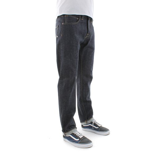 edwin ed 55 Edwin ED-55 Relaxed Red Listed Selvage Denim Jeans