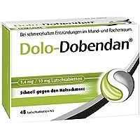 Dolo-Dobendan Lutschtabletten, 48 St. preisvergleich bei billige-tabletten.eu
