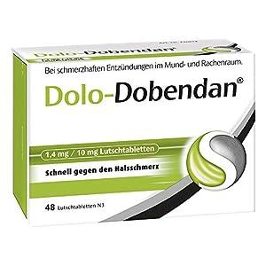 Dolo-dobendan 1,4 mg/10 mg Lutschtabletten 48 stk