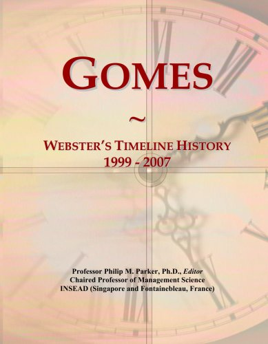 gomes-websters-timeline-history-1999-2007