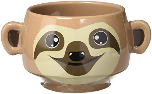 thumbs Up! - Sloth Mug - Tasse Céramique en forme d'un paresseux - oreilles sont les poignées - brun - 275ml - 0001696