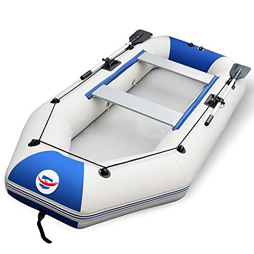 Zihenguo barca gonfiabile professionale con pompa a pedale in alluminio, gommoni antiusura (disponibili in diverse dimensioni),1.75m