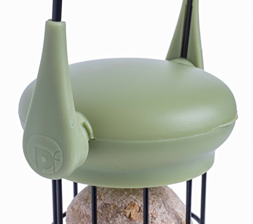 Petface 70040DS1 LokTop Squirrel Proof Fat Ball Feeder, Multi-Colour, 18.5x18.5x29 cm 4