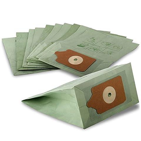 20Stück Numatic Henry Hoover Ersatz Staubsauger Double Layer Staub Papier-Staubsaugerbeutel. (Papier Bag System)