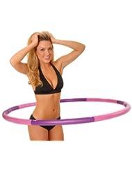 Hoopomania Light Hoop - Aro de fitness con refuerzo de espuma (1,2 kg)