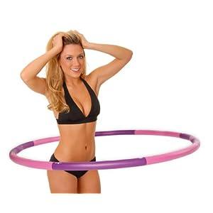 Hoopomania Schaumstoff Hula Hoop Reifen mit 1,2 kg oder 1,5 kg für Erwachsene, schmerzempfindliche Personen