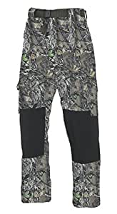 Fladen Camo Trousers - Green, Large