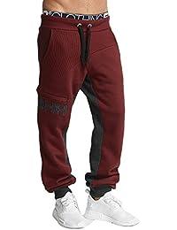 Shisha Herren Hosen / Jogginghose Sundag rot XL