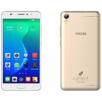 Tecno I3 Pro 3 GB RAM, 16 GB ROM (Luxurious Gold): Amazon in