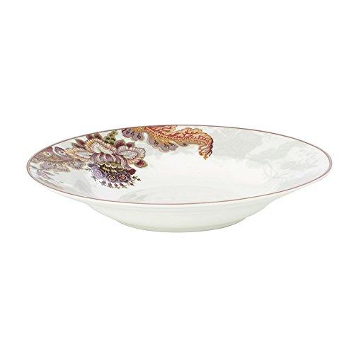 Côté Table 13544 Elisabeth Assiette Creuse Porcelaine Blanc 24 x 24 x 4 cm (lot de 6)