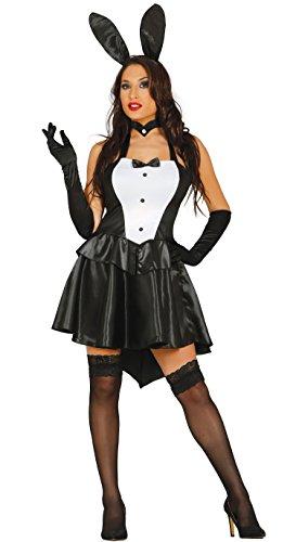 Costume da coniglietta playboy sexy taglia M