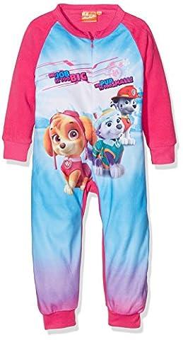 Nickelodeon Girl's Paw Patrol jumpsuit, Pink (Fushia), 4