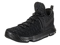Nike Mens Zoom KD 9 Black/Black Anthracite Basketball Shoe 10 Men US