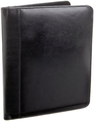 leatherbay-classic-leather-padfolioblackone-size