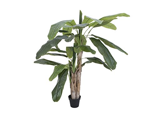 artplants Künstlicher Bananenbaum Makani, 170 cm - exotische Pflanze