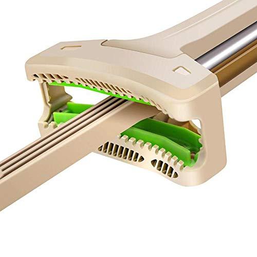 Set completo di lavapavimenti, rivestimento 3d in microfibra, anche con strizzatore, doppio lato e sistema di pulizia completo per pavimenti duri