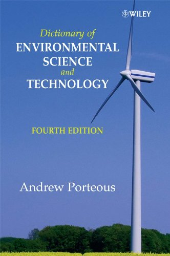 Dictionary of Environmental Science and Technology (English Edition)