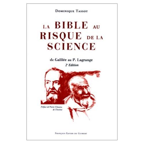 La Bible au risque de la science