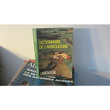DICTIONNAIRE DE L'AGRICULTURE