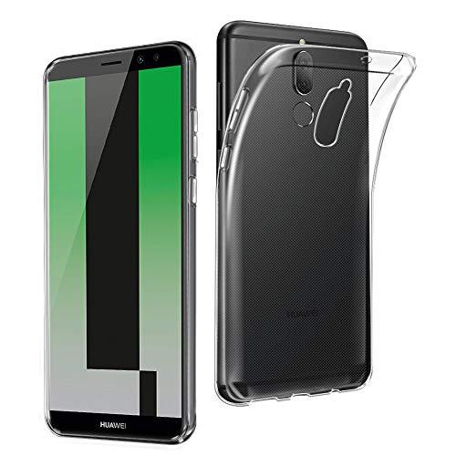 Huawei Mate 10 Lite Hülle TPU Case, AVIDET Ultra Slim TPU Case für Huawei Mate 10 Lite Schutzhülle (Transparent)