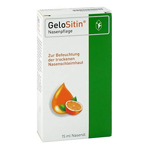 Gelositin Nasenpflege Nasenöl Dosierspray, 15 ml Lösung