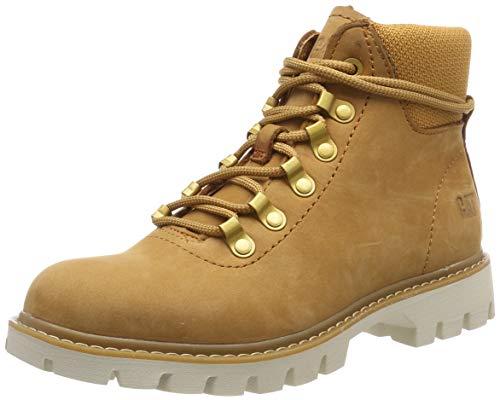 CAT Footwear Damen Handshake Kurzschaft Stiefel, Braun (Sudan Brown 0), 38 EU - Cat Damen Schuh