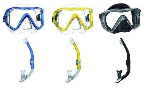 Mares i3 Einglasmaske Tauchermaske + Ergo Dry Trockenschnorchel