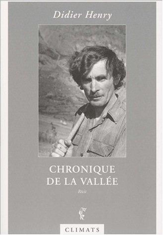 Chronique de la vallée