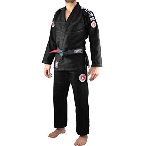 Kimono Homme Noir 3