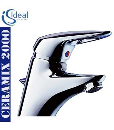 Rubinetteria Ideal Standard Serie Ceramix 2000.Ideal Standard A5011aa Miscelatore Lavabo Tubetti Rigidi Ceramix 2000 Cromo
