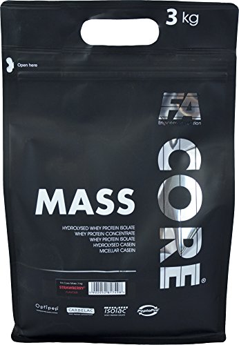 FA Nutrition Mass Core – 3kg -Vanille – Weight Gainer