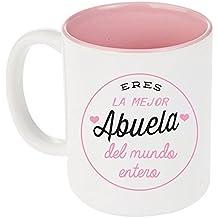 Taza Mejor Abuela Interior Rosa  ¡NUEVO!