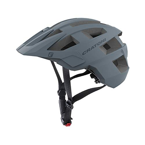 Cratoni Unisex- Erwachsene AllSet (MTB) Fahrradhelm, Grau, One Size