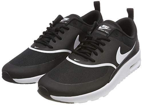 Nike Damen Air Max Thea Derbys, Schwarz (Black/White 028), 38.5 EU