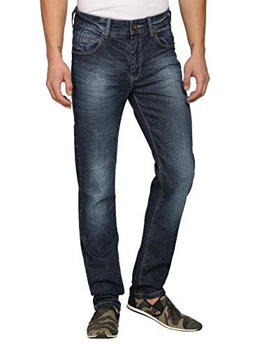 abof Men Blue Slim Fit Stretchable Jeans