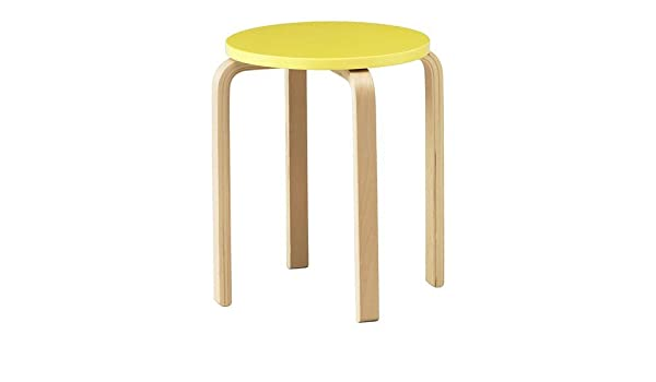 Ikea frosta sgabello in giallo: amazon.it: casa e cucina