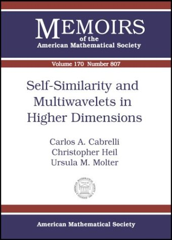 self-similarity-and-multiwavelets-in-higher-dimensions