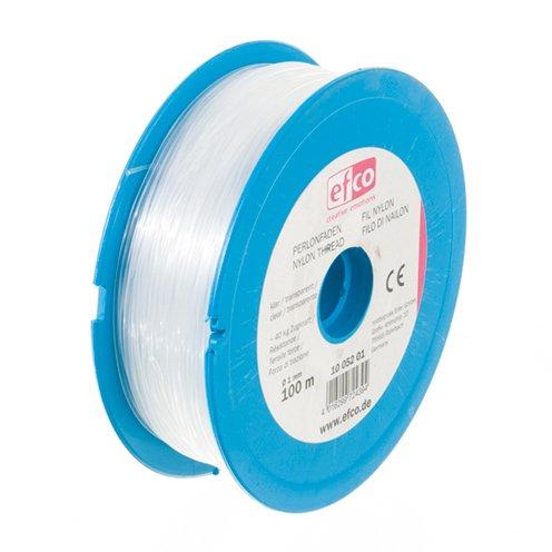 bastelkoerble® Perlonfaden klar 1 mm , 100 m - 40 kg Zugkraft