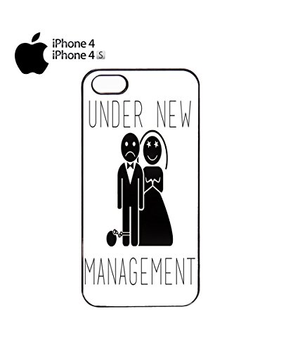 Under New Management Married Game Over Mobile Phone Case Back Cover Coque Housse Etui Noir Blanc pour for iPhone 5c Black Noir