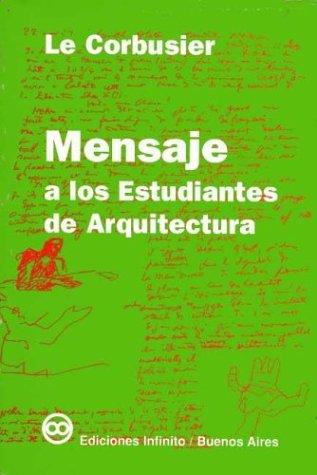 Mensaje a los estudiantes de arquitectura