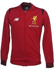 Liverpool FC 17/18 - Veste Walk-Out de Foot - Rouge