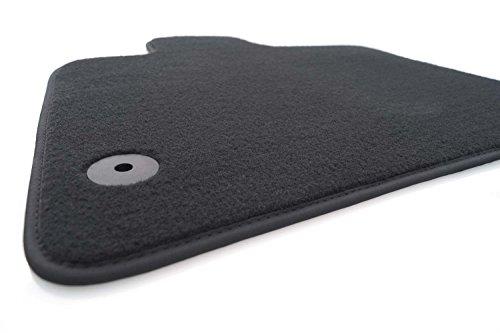 Preisvergleich Produktbild kh Teile Fußmatte / Velours Automatte Original Qualität Fahrermatte, anthrazit