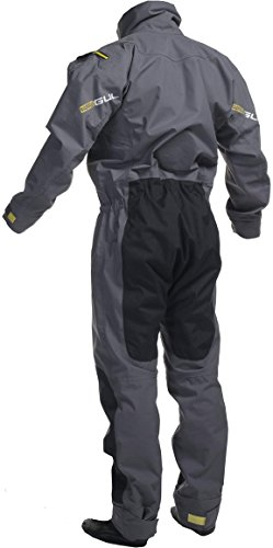 2018 Gul Shadow Mens Halo Zip Drysuit Charcoal GM0349-B3 Size - - Large